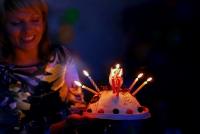 День рождения Полины Торт